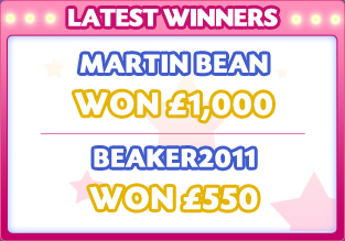 Latest Winners